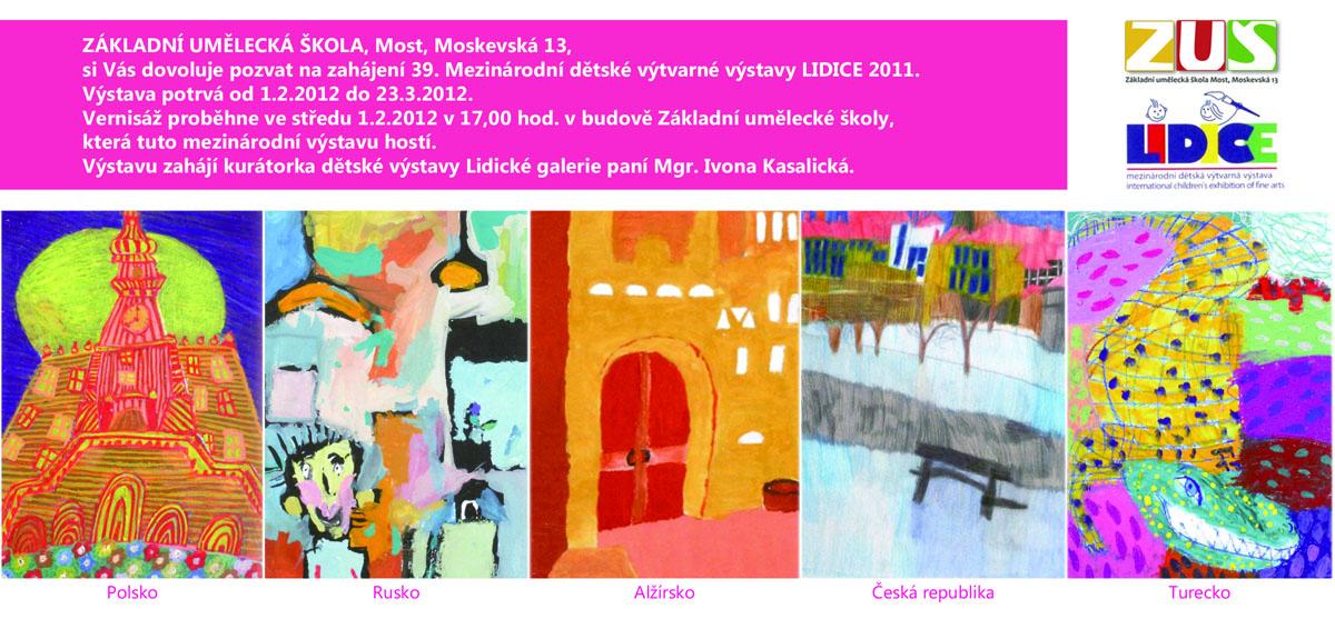 39. Mezinárodní dětská výtvarná výstava LIDICE 2011